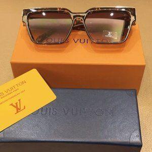 Louis Vuitton Sunglasses Leopard Brown YS015